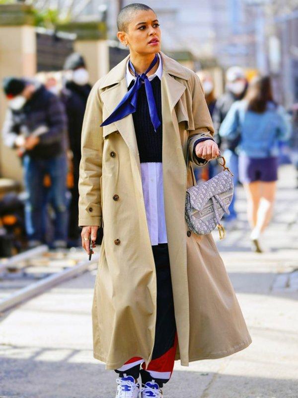 Jordan Alexander Tv Series Gossip Girl Julien Calloway Trench Coat
