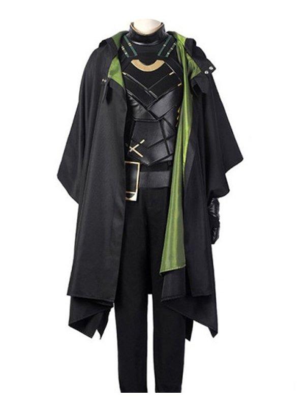Loki Sophia Di Martino Hooded Coat
