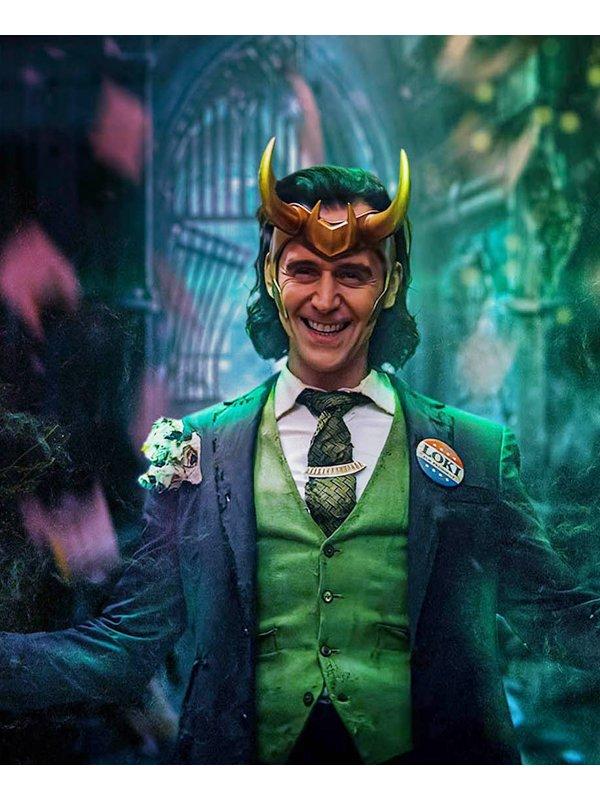 Loki Tom Hiddleston Blazer