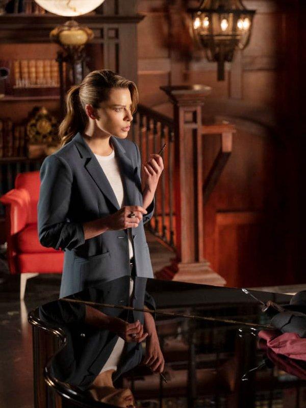 Lucifer Chloe Decker Blue Coat