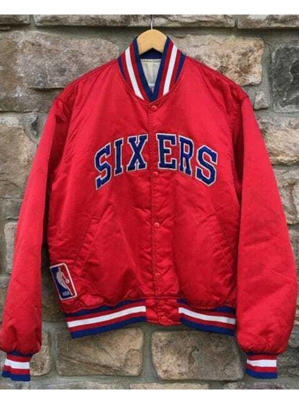 Philadelphia Sixers Bomber Jacket