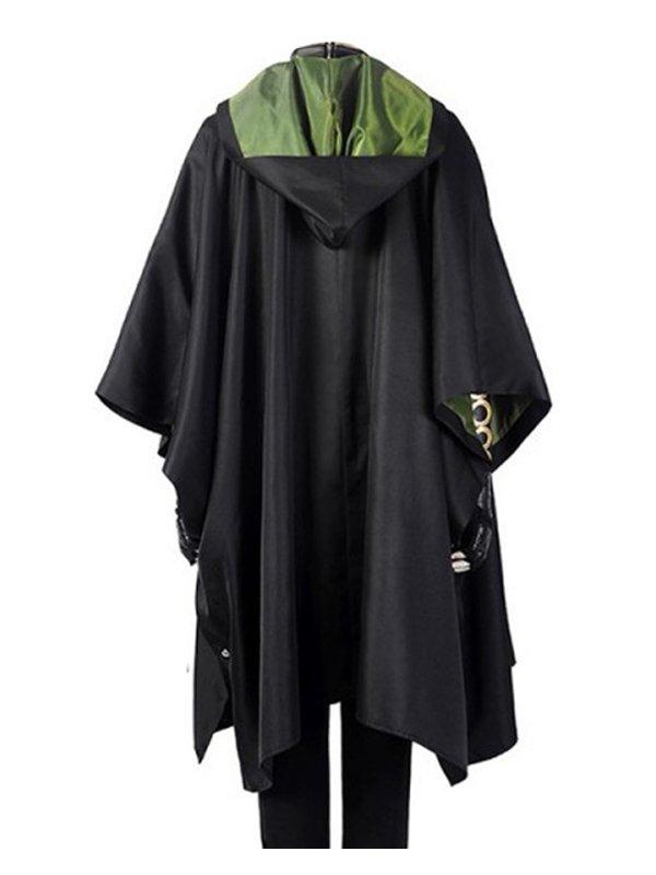 Sophia Di Martino Loki Sylvie Black Hooded Coat