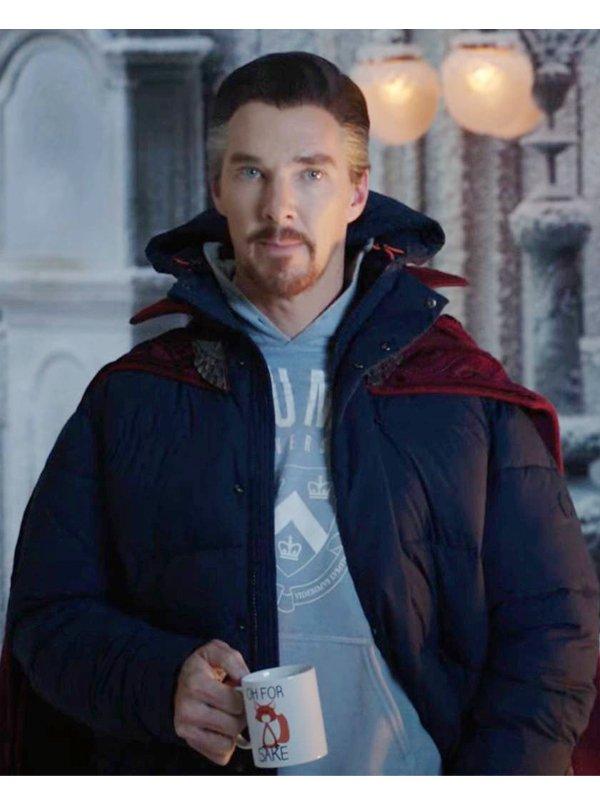 Spider-Man No Way Home Benedict Cumberbatch Jacket