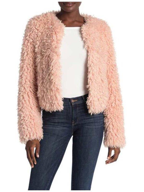 The Equalizer Laya DeLeon Hayes Fur Jacket