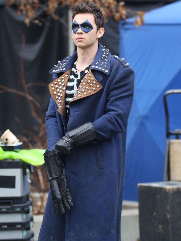 The Flash Devon Graye Studded Coat
