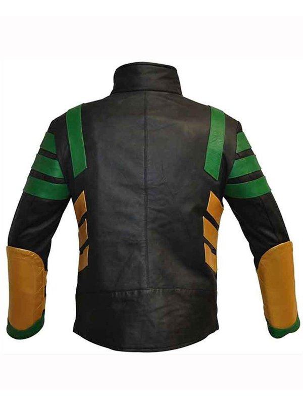Tom Hiddleston Tv Series Loki Leather Jacket