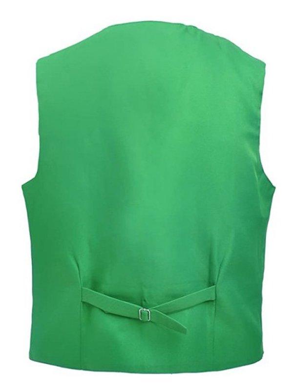 Tv Series Loki Tom Hiddleston Cotton Green Vest