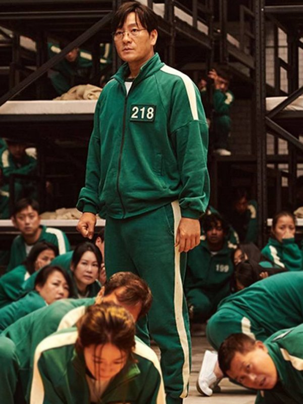 2021 Squid Game Green Tracksuit