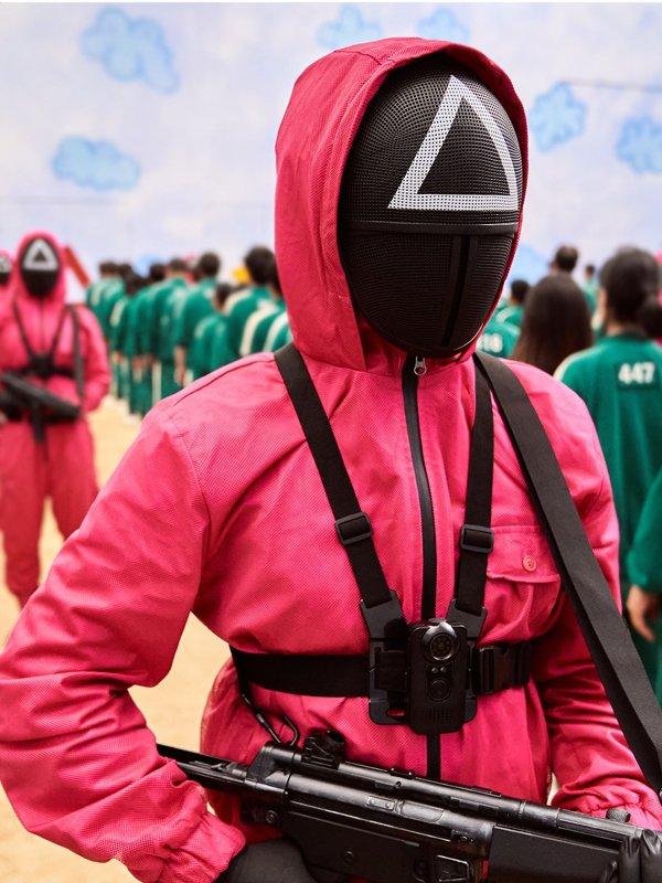 2021 Squid Game Guard Jumpsuit