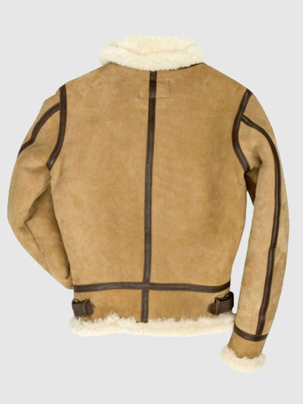 B3 Bomber Suede Leather Jacket