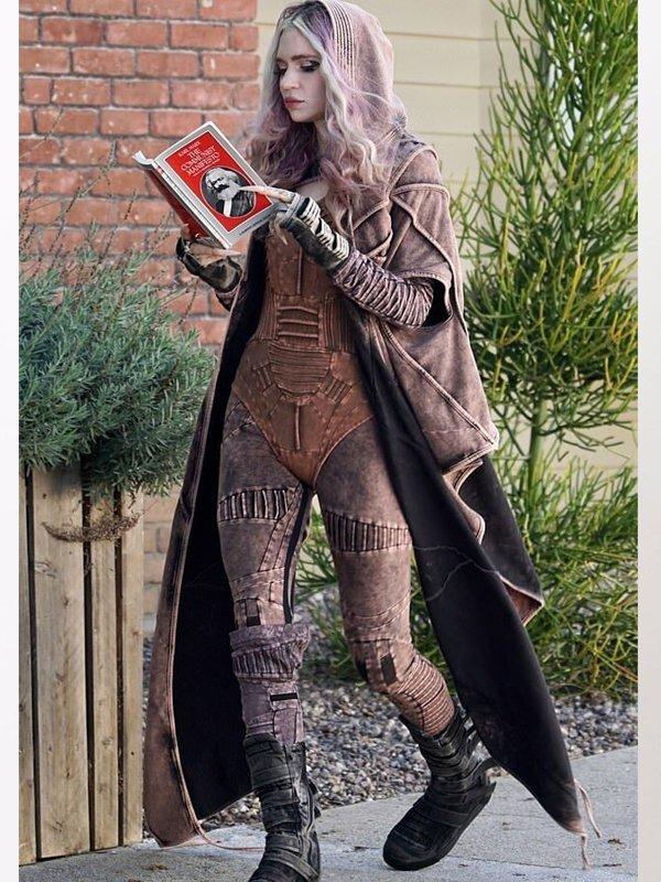 Grimes Karl Marx Futuristic Coat