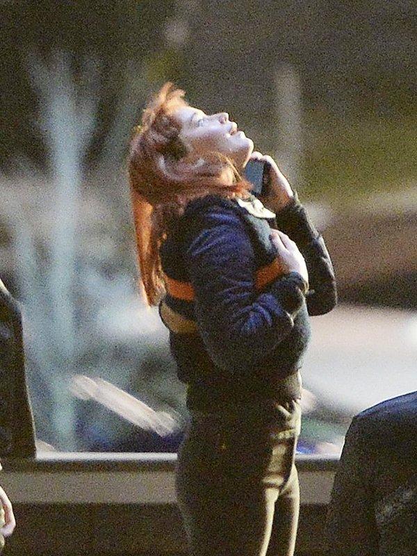 Jennifer Lawrence Don't Look Up Kate Dibiasky Letterman Bomber Jacket