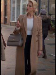 Rebecca Welton Brown Long Coat