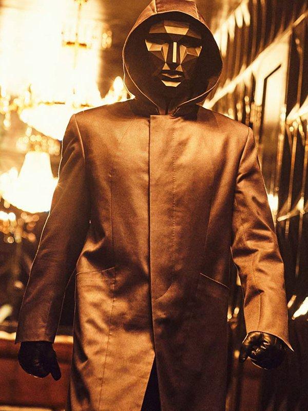 Squid Game Frontman Leather Coat