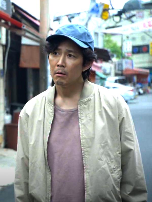 Squid Game Lee Jung-jae Seong Gi-hun Cotton Bomber Jacket