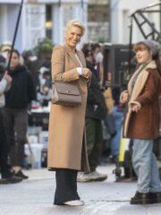 Ted lasso Hannah Waddingham Long Coat