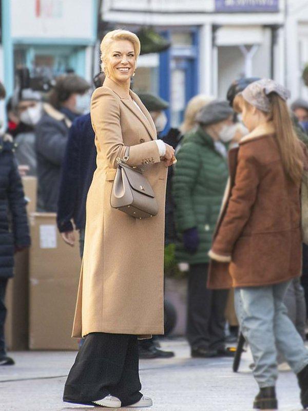 Ted lasso Rebecca Welton Long Coat
