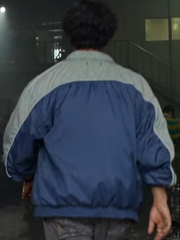 Tv Series Squid Game Ali Abdul Anupam Tripathi Blue Jacket