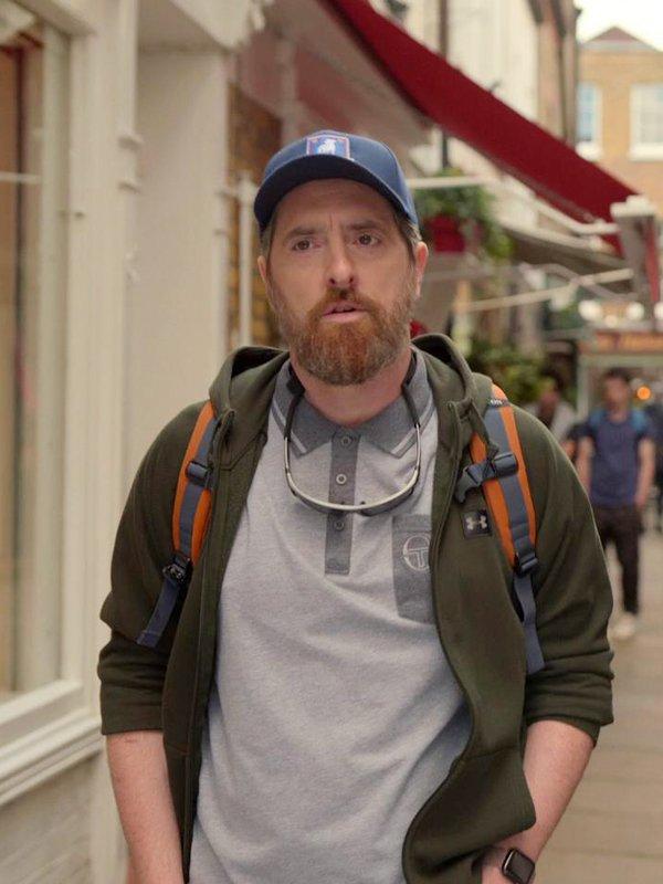 Tv Series Ted Lasso Coach Beard Brendan Hunt Green Hoodie